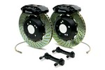 Brembo 328x28 2-Piece Front Gran Turismo Brake Kit - Drilled GT2 4-Piston  (Lotus-Type) For Lexus IS300