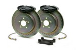 Brembo 316x20 1-piece Rear Gran Turismo Brake Kit - Drilled OEM Cast For Subaru 06+ WRX