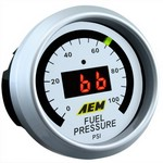 AEM Fuel Pressure Gauge 0 to 100 psi