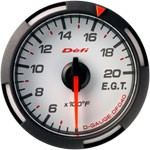Defi D-Gauge Exhaust Gas Temperature Gauge, 52mm