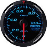 Defi Blue Racer Pressure Gauge, 52mm