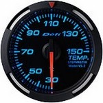 Defi Blue Racer Temperature Gauge, 52mm