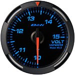 Defi Blue Racer Volt Gauge, 52mm