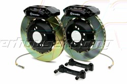 Brembo 328x28 2-Piece Front Gran Turismo Brake Kit - Slotted GT2 4-Piston  (Lotus-Type) For Honda 00+ S2000