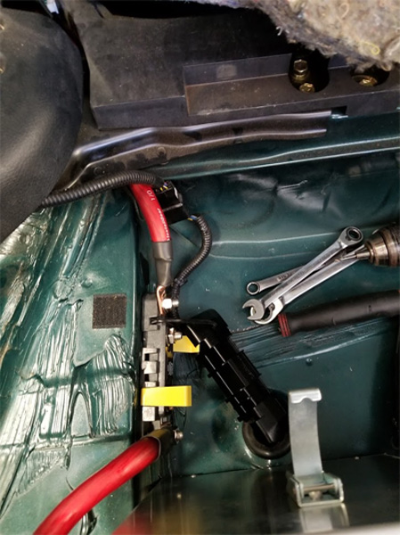phr supra battery relocation kit installation instructions  powerhouse racing