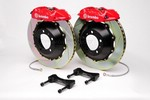 Brembo 316x20 1-piece Rear Gran Turismo Brake Kit - Slotted OEM Cast For Subaru 06+ WRX