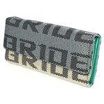 Kei Project Bride Racing Women's Ladies Wallet Clutch Trifold Fabric Leather Bride Gradation (Mint Teal)