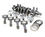"Brian Crower Stroker Kits - 91mm Billet Crank, I Beam Rods (5.366""), Custom Pistons For Nissan 93-02 S14, S15 240SX"