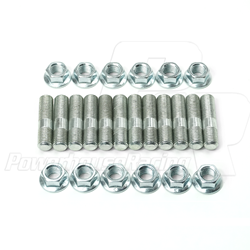 PHR Short Stud and Nut Kit, for Turbo Manifolds